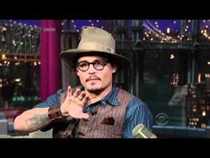 Johnny Depp about Hunter S. Thompson on the Late Show (2011)
