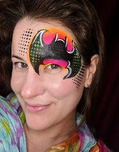 Easy Face Painting Designs, Paint Designs, Carnival, Superhero, Halloween, Batman, Projects, Ideas, Log Projects