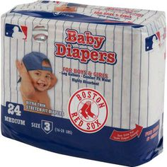 MLB - Boston Red Sox Baby   Diaper Pack my kid will be wearnig this !!!