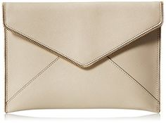 Women's Clutch Handbags - Rebecca Minkoff Leo Clutch Khaki >>> Details can be found by clicking on the image. Best Handbags, Fashion Handbags, Clutch Handbags, Envelope Clutch, Latest Fashion Trends, Rebecca Minkoff, Leo, Clutches, Image Link