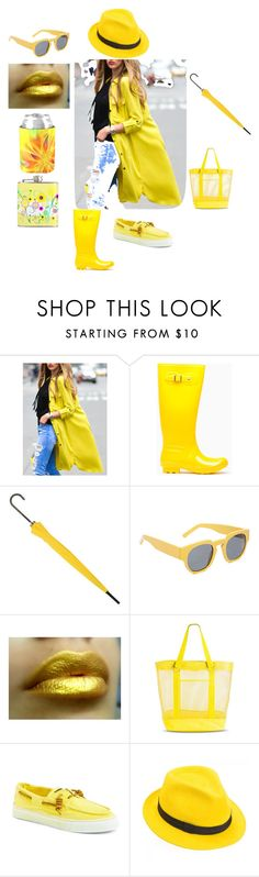 Yellow Fashion by diane-auriemma on Polyvore featuring Sperry Top-Sider, Target, Mademoiselle Slassi and Marni