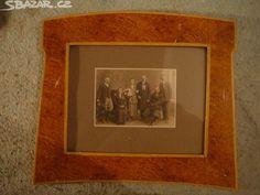Starý dobový rám s fotografií - obrázek číslo 1