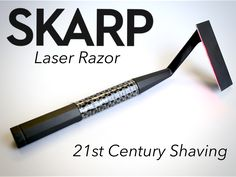 The first ever razor, powered by a laser, for an irritation free, incredibly close shave. Join the revolution!