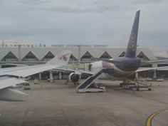 International Airport Phuket, Thailand