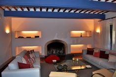 Salon-Estar de Casa de Campo rehabilitada por NRCR ARQUITECTOS S.L.P.
