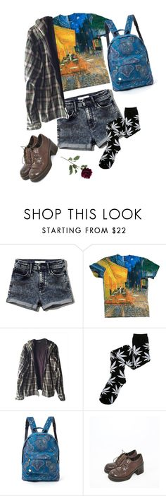 """""""It's my love that you're running from"""" by in-rainbows-se ❤ liked on Polyvore featuring Abercrombie & Fitch, Burkman Bros., HUF, Mi-Pac, love and bobmarley"""