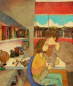 Puuung sladke ilustracie ktore vas naucia co je laska 6
