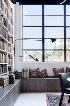 Rare Bookseller' Office Space in Surry Hills by Busatti Studio   Yellowtrace