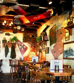 94th Aero Squadron Restaurant San Diego- great brunch place a favorite of my family for years
