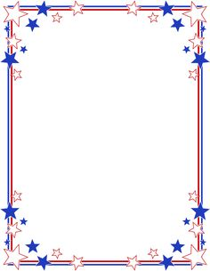 Memorial day borders clip art of july borders clip art patriotic Frame Border Design, Page Borders Design, Borders For Paper, Borders And Frames, Borders Free, Page Boarders, Printable Border, Page Frames, Islamic Art Pattern