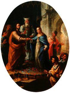 Cat‡logo de pinturas: Desposorios (Hacia 1772)