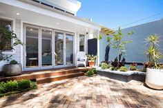 Courtyard Space Outdoor Rooms, Outdoor Decor, Granny Flat, My House, Living Spaces, Construction, Windows, Patio, Gallery