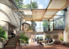 Thomas Heatherwick's gorgeous green-roofed Maggie's center in Yorkshire gets the green light   Inhabitat - Sustainable Design Innovation, Eco Architecture, Green Building