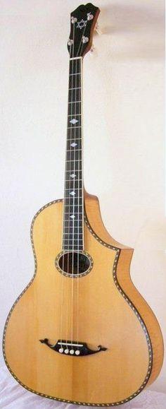 "Fraulini ""Freida"" Tenor Guitar ~ https://www.pinterest.com/lardyfatboy/"