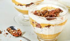 Crazy Sexy Kitchen Recipe: Raw Pumpkin Mousse w/ Coconut Cream & Candied Pecans #vegan #recipes #glutenfree #healthy #dessert #plantbased #whatveganseat