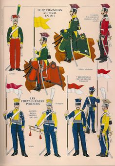 MINIATURAS MILITARES POR ALFONS CÀNOVAS: LES LANCIERS, 1811-1813. por Andre JOUINEAU.