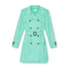 mint trench omg I lovee this.
