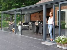 The wooden pergola is a good solution to add beauty to your garden. If you are not ready to spend thousands of dollars for building a cozy pergola then you may devise new strategies of trying out something different so that you can re Garden Room Extensions, House Extensions, Pergola Patio, Backyard Patio, Pergola Kits, Pergola Ideas, Gazebos, House Extension Design, Garden Buildings