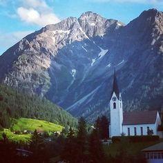 kerkje in Hirschegg Kleinwalsertal