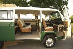 volkswagen 1967 bus interiror - Google Search
