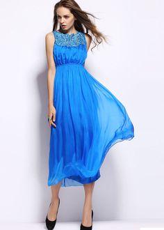 romantik silk dress NQ3119