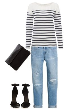 """./."" by efkalipta ❤ liked on Polyvore featuring Isabel Marant, White House Black Market and Oui"