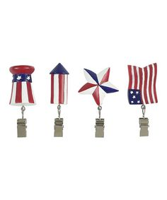 Take a look at this Flying Flags Tablecloth Weight Set by Boston Warehouse on #zulily today!