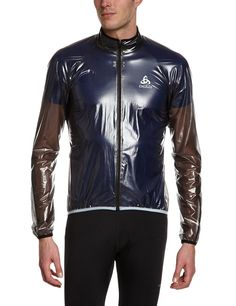 Odlo Men's Jacket Hardshell Mud: Amazon.co.uk: Sports & Outdoors shinynylon shiny glanznylon wetlook