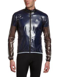 Odlo Men's Jacket Hardshell Mud: Amazon.co.uk: Sports & Outdoors shinynylon shiny glanznylon wetlook