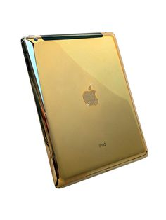 Cause a spectacle at your next board meeting with this beautifully polished 24 karat Gold iPad in Classic or Mini. Its Apple logo diamond encrusted making it one of the most opulent tablets on the market.  http://www.zocko.com/z/JJVDk