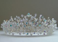 Hey, I found this really awesome Etsy listing at https://www.etsy.com/listing/171104901/bridal-tiara-crystal-tiara-bridal