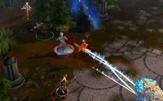 Battle for Graxia is a new free-to-play Multiplayer Online Battle Arena (MOBA) game that pits opposing teams of players against one another in fast, strategic combat. The game has combined the trad… Online Battle, Online Games
