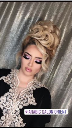 Formal Hairstyles For Long Hair, Evening Hairstyles, Long Curly Hair, Big Hair, Curly Hair Styles, Crown Hairstyles, Bride Hairstyles, Dramatic Hair, Bridal Hair Buns