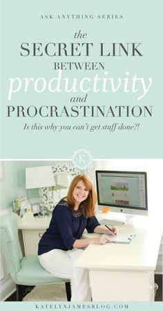 How to BEAT Procrastination and SPARK Motivation in Your Small Business by Katelyn James Photography