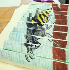 Insect 2 view 6th grade LMS art