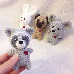 The Chibi-animal-family is getting bigger #häkelliebe #handmade #instacrochet…