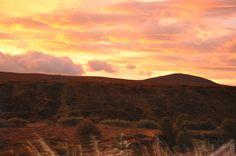 Sunrise on the way to the Isle of Skye!