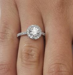 55798 jewelry 1.59 CT SI1/D ROUND CUT DIAMOND SOLITAIRE ENGAGEMENT RING 14K WHITE GOLD  BUY IT NOW ONLY  $1700.0 1.59 CT SI1/D ROUND CUT DIAMOND SOLITAIRE ENGAGEMENT RING 14K WHITE GOLD...