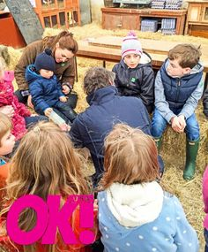Kate and George's day out at Snettisham Park on March 31st.
