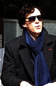 Sherlock is in Arctic Monkeys mood :P