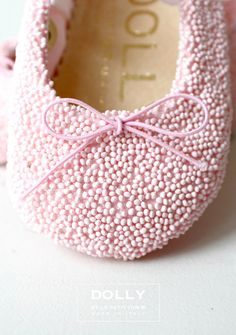 like 'Sweets'. sorry, not eatable. Our new baby ballet shoes from DOLLY by Le Petit Tom ® Baby Ballet Shoes, Baby Ballerina, Baby Girl Shoes, Italian Baby, Pink Summer, Summer Time, Tiny Dancer, Little Doll, Baby Feet