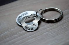 For Tails Only - Washer Heart Pet ID Tag - Eternal Love, $21.00 (http://www.fortailsonly.com/washer-heart-pet-id-tag-eternal-love/)