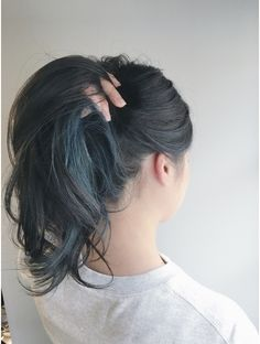 All Details You Need to Know About Home Decoration - Modern Hair Color Streaks, Hair Color Purple, Hair Dye Colors, Hair Color For Black Hair, Cool Hair Color, Hair Highlights, Hidden Hair Color, Hair Color Underneath, Peekaboo Hair