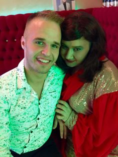 Patrik Havelka a miss Angelika