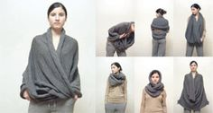 Amazing elementum collection.  These are all easy enough to knit; so many interesting ways to wear!
