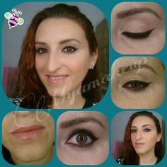 Piel melocoton y eyeliner