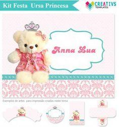 Kit Festa Personalizado Ursa Princesa mod:903