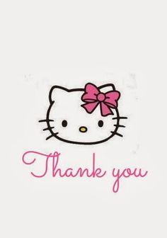 Mini Kit de Hello Kitty para Imprimir Gratis.