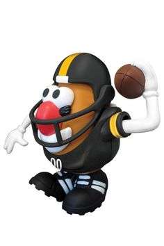 Mr. Potato Head Steeler Football player, how cute it he!?!