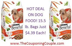 Need Dog Food?  HOT DEAL ON DOG FOOD ~ 15.5 lb. Bags ONLY $4.39 each after coupon, cartwheel and Gift Card! Click the link below to get the FULL BREAKDOWN and Direct Links to the coupons ► http://www.thecouponingcouple.com/hot-deal-on-beneful-dog-food-target-15-5-lbs-just-4-39-each/  #Coupons #Couponing #CouponCommunity  Visit us at http://www.thecouponingcouple.com for more great posts!